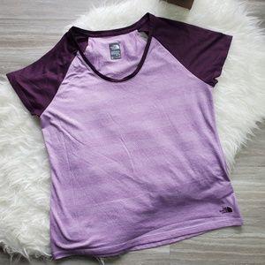 Women The North Face Short Sleeve T-Shirt Flashdry